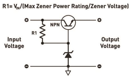 why zener diode is used as voltage regulator why you should be using a linear voltage regulator make