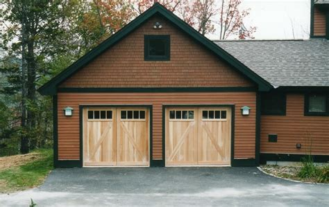 barn style garage barn style garage doors designed by builder to match the