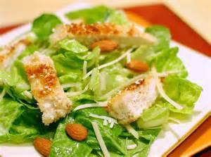 sesame chicken caesar salad