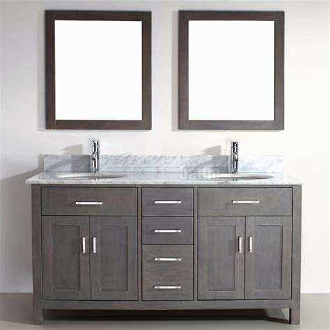 Grey Bathroom Vanity Cabinet Kalize 63 Gray