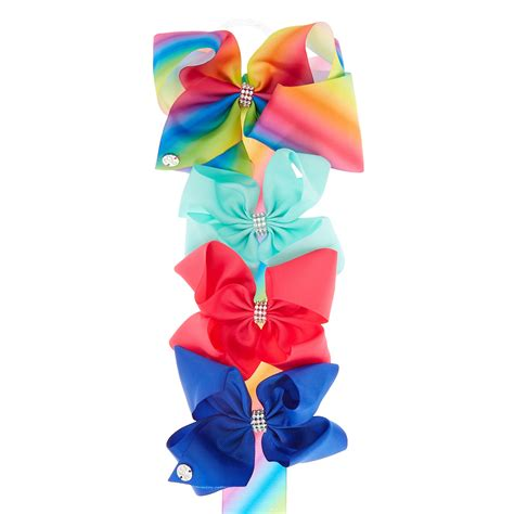 Jojo Siwa Bow By Timorashop jojo siwa rainbow bow holder s us
