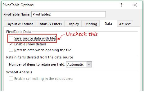 pivot cache in excel what is it and how to best use it