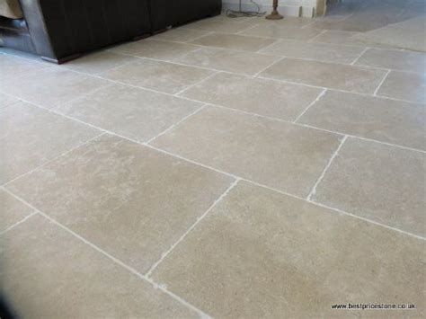 Dijon Tumbled Limestone floor tile   Best Price Stone