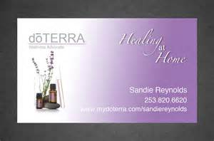 doterra business cards digital doterra business card design color by