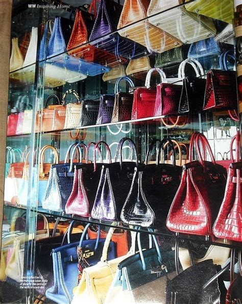 Bags Closet by Largest Hermes Collection Chua Lust4labels