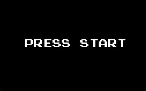 Press Start press start