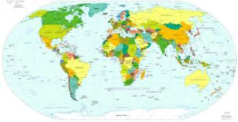 Map Of World Countries by World Map Maps Of The World