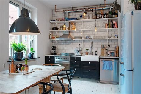 swedish small apartment kitchen design home round small swedish apartment as an exle of scandinavian style