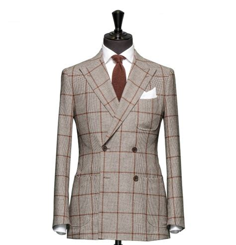 tailored 2 piece suit fabric 7705 houndstooth brown tailored 2 piece suit fabric 4355 houndstooth brown