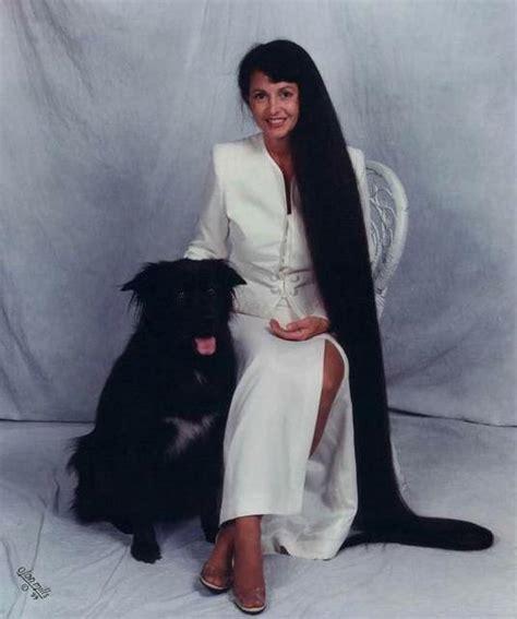 cherokee women long hair xie qiuping world s longest hair women beautyway2life