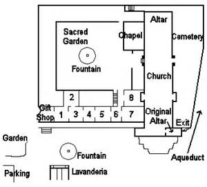 santa barbara mission floor plan mission santa b 225 rbara museum page 1 missiontour