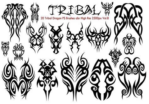 tribal pattern brush photoshop tribal ps brushes vol 8 free photoshop brushes at brusheezy