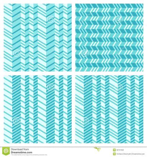 Flat Pattern Stock | set of geometrical seamless flat pattern stock photography