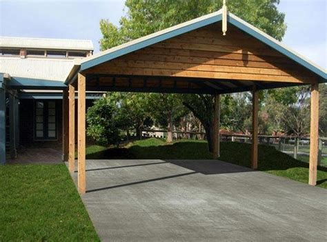 Timber Car Port by Plans To Build Timber Carport Plans Diy Pdf