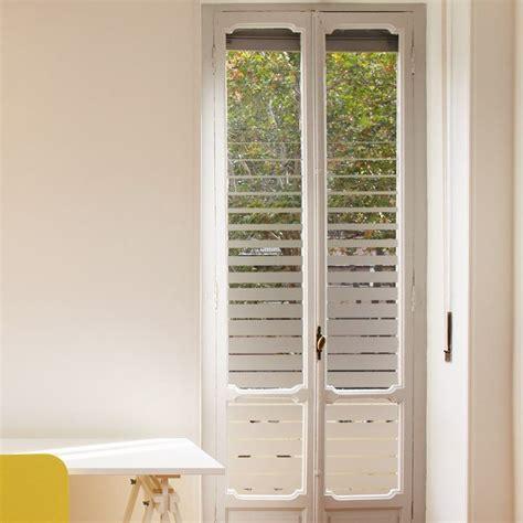 vitre de pas cher sticker occultant pour vitres et fen 234 tres compos 233 de bandes horizontales de plus en plus