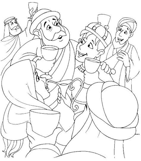 The Prodigal Son S Welcome Home Party Luke 15 Coloring The Prodigal Coloring Pages