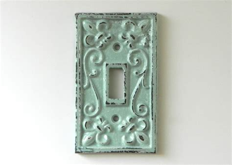decorative switch plates shabby chic switchplate cover decorative light by juxtapositionsc