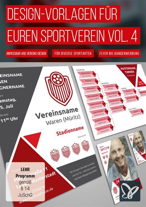 Shop Design Vorlagen design vorlagen f 252 r euren sportverein