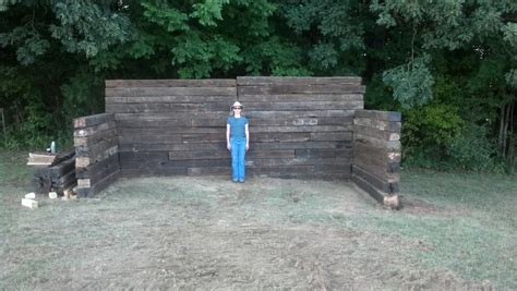 backyard shooting range diy archery backstop pictures to pin on pinterest pinsdaddy