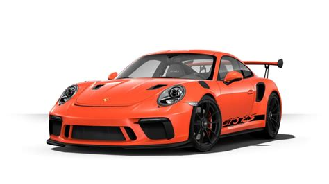 porsche gt3 rs orange 2019 porsche 911 gt3 rs color options