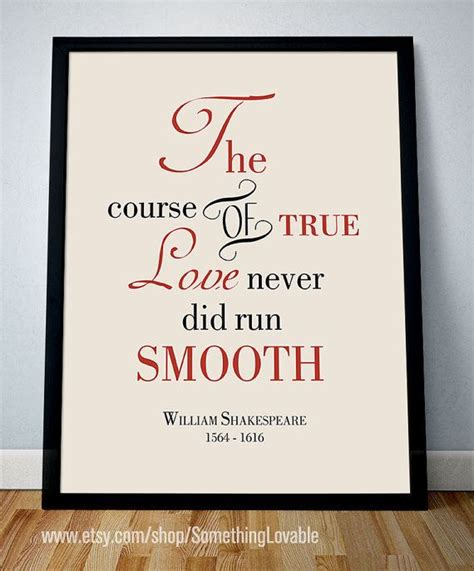 printable shakespeare quotes printable quote william shakespeare quot the course of true