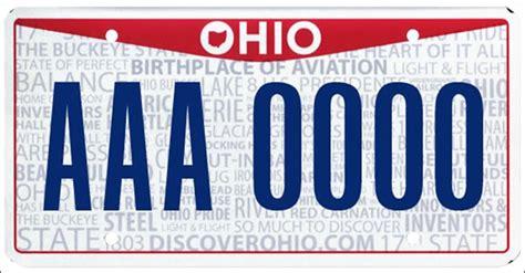Ohio Bmv Vanity Plates by Ohio S New License Plate Design Now Available Toledo Blade
