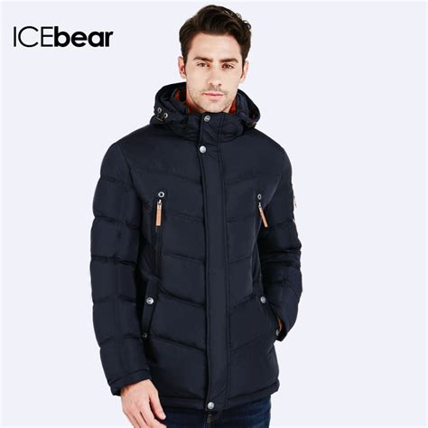 Zipper Parka 1 icebear 2016 winter jacket fashion design brand parka