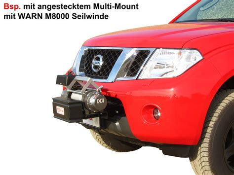 nissan frontier winch mount winch with factory front bumper nissan frontier