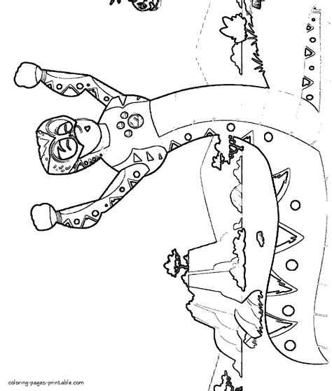 free wild kratts coloring pages