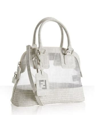 Fendi Mesh Satchel by Couture Carrie January 2009