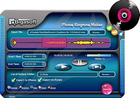 9 iphone ringtone free software collection bigasoft iphone ringtone maker 1 9 5 4777 free