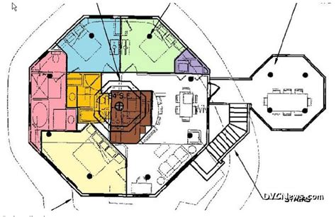 treehouse villas floor plan tree house villas layout the dis disney discussion