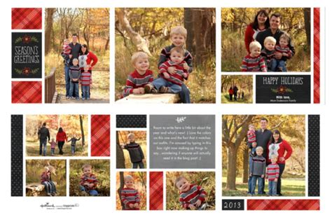 Layout For Christmas Card   holiday cards from tiny prints giveaway