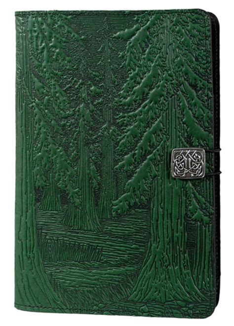 oberon design kindle cover leather covers and cases for amazon fire tablets forest