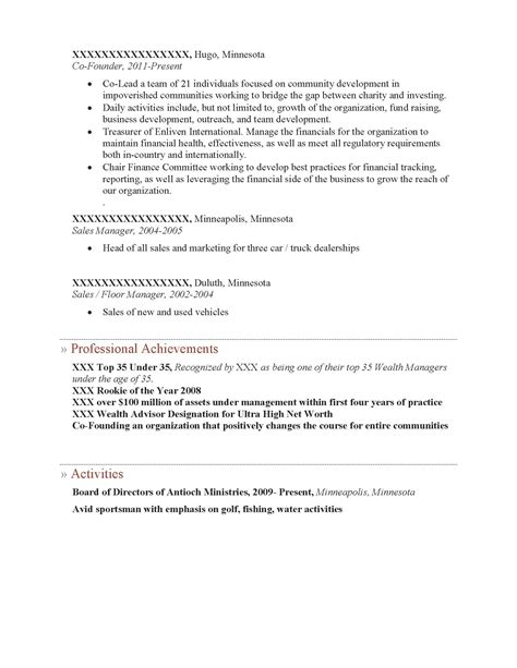 cover letter for after school program wealth management advisor cover letter employee personal