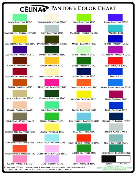 what is pms color 2018 color chart fillable printable pdf forms handypdf