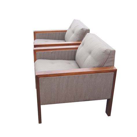 1980s furniture 2 1980s gunlocke lounge armchairs
