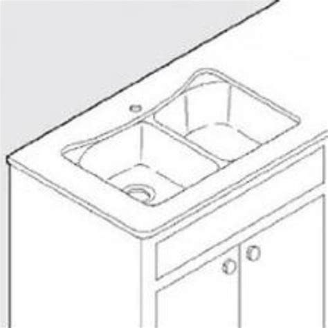 Undermount Sink Template by Moen Undermount Service Kit For 25200 Sink With Template