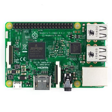 Raspberry Pi 3 Model B raspberry pi 3 model b 1 2 ghz 1 gb ram