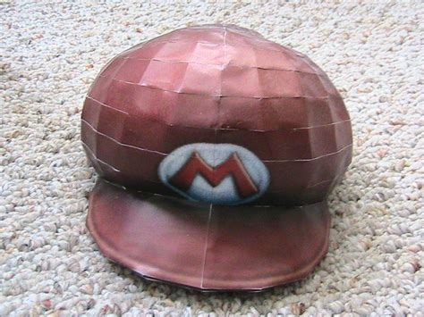 Papercraft Hat - mario hat papercraft by may7733 on deviantart