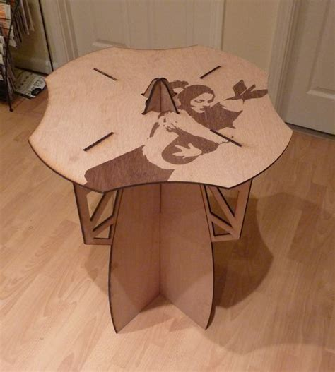 laser cut table