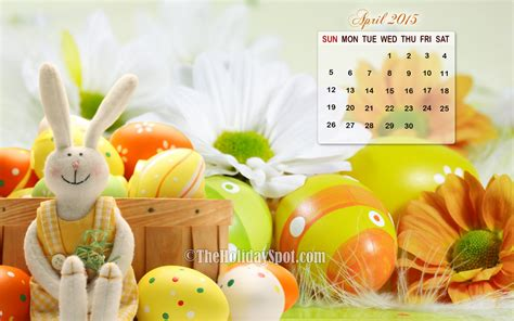 Calendar When Is Easter 2015 Image Gallery Easter 2015 April