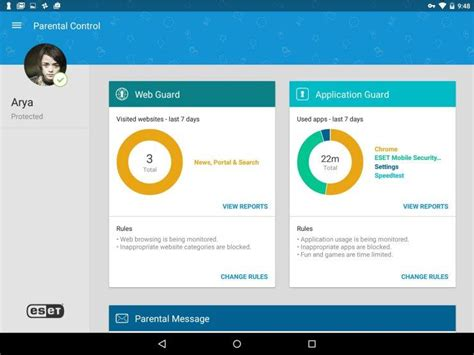 parental app for android eset parental for android review rating pcmag