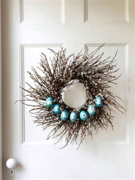 diy twig wreath 40 creative diy easter wreath ideas to beautify your home