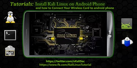 tutorial linux android install kali linux on android phone kalitut tutorial