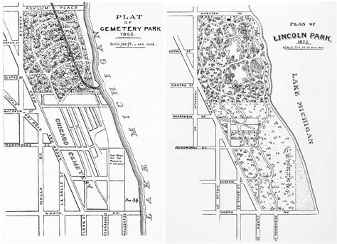 lincoln park chicago map lincoln park