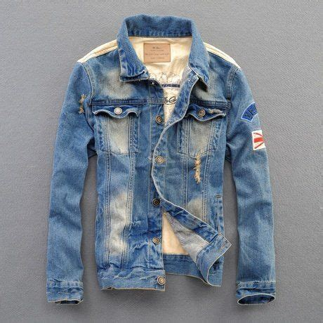 Premium Denim Jacket Ripped ripped denim jackets for fashion