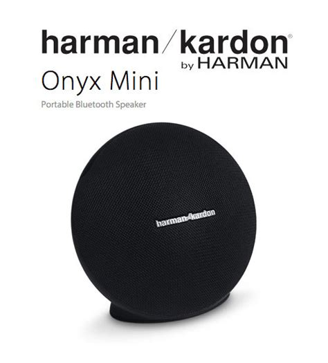 Speaker Onyx Mini harman kardon onyx mini portable wireless bluetooth speaker