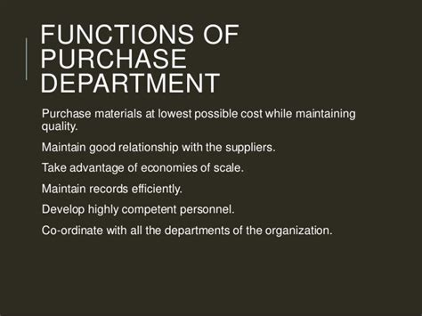 What Is The Purpose Of The Department Of Interior by Types Of Purchasing System
