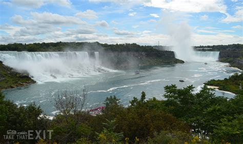 niagara falls boat tour canadian side niagara falls the maid of the mist boat tour and we walk